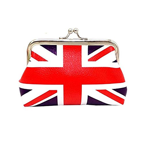 Clearance unique 2018 wallets Hasp Noopvan nice wallets Printed Flag Coin Wallet Purse Fashion Girls Wallet A Women Bag Cute Clutch E5qzZfwqn