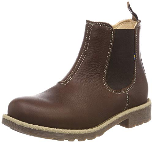 Enfant Jr Chelsea Brown Husum Kavat Boots EP Mixte Dark 919 Marron O1pxY