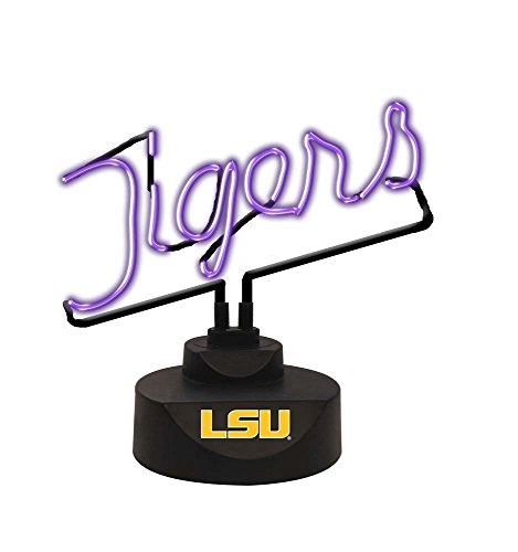 The Memory Company NCAA Louisiana State University Script Neon Sign, One Size, Multicolor (Lakers Nba Neon Sign)