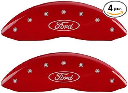 MGP Caliper Covers 10215SXPLRD Red Caliper Cover