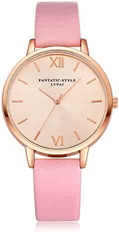 Women's Watch, New Arrival! Fashion Round Case Quartz Watch Christmas Gift Wristwatch for Lady Female