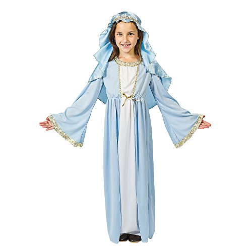 Oriental Express Halloween Costumes (Child Size Medium Deluxe Mary)