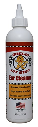 Powerful Max Strength Multi Symptom Dog & Cat Ear Infection Prevention & Ear Mite Treatment - Soothe Itch, Smell & All Common Pet Ear Challenges w/Best Cat Ear Mite Treatment & Dog Ear Cleaner (Antibacterial Safety Cleaning Wipes)