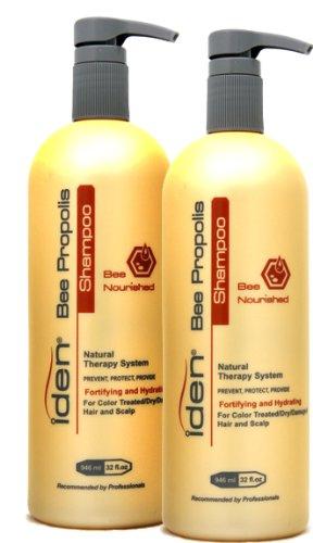 Iden Bee Nourished Shampoo 32oz 2Pack