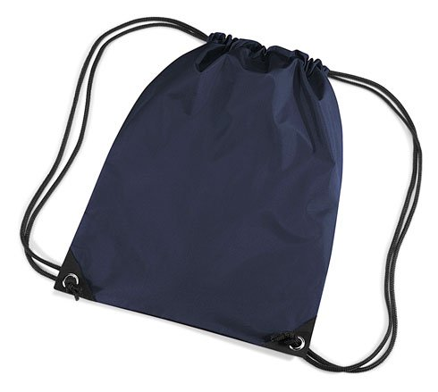 Unisex Navy Blue shoulder bag Zipped Strap Pocket BagBase Colours Retro B8TWd