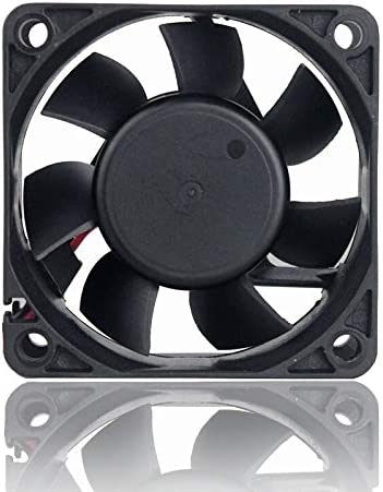 2pcs Gdstime 60mm DC 24V 60x60x25mm 6025s 6cm Brushless DC Cooling Exhaust Fan