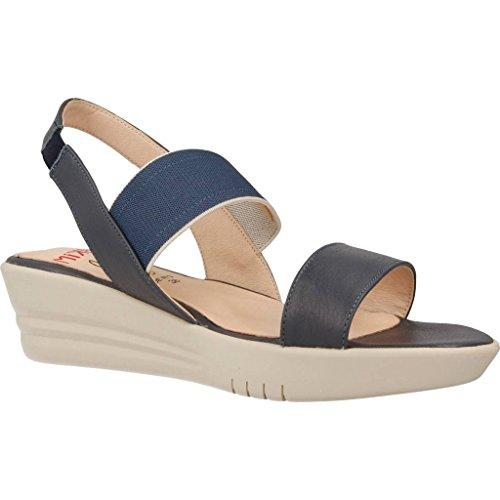 mikaela Sandalias y Chanclas Para Mujer, Color Azul, Marca, Modelo Sandalias Y Chanclas Para Mujer 17777M Azul Azul