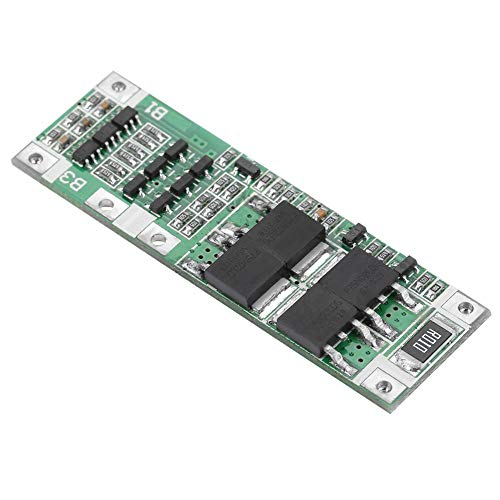 ZJchao Lithium Battery Protection Board, 3S 20A Li-ion Charger Module Cell BMS PCB Board with Over Charge Protection, Over Discharge Protection, and Short Circuit Protection ()