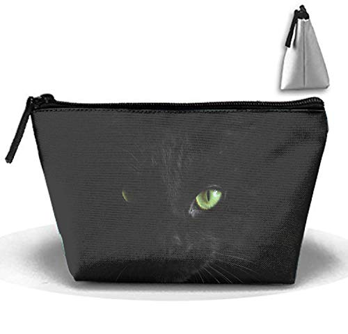 Halloween Cat Women's Makeup Organizer Men's Shaving Kit for Travel Accessories, Shampoo, Cosmetic, Personal Items ()