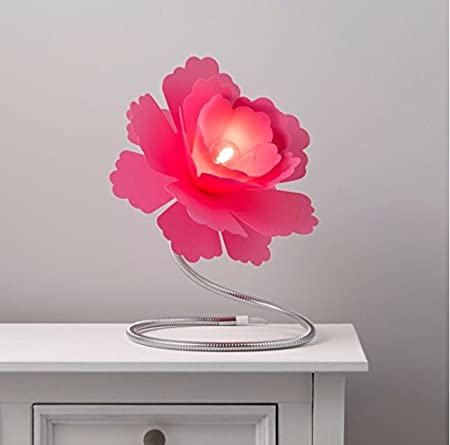 Sterling Paloma Flower Fuchsia Table Lamp