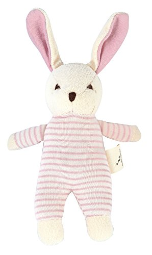 DorDor & GorGor ORGANIC Plush Toy, Dye Free Natural Hue, Bunny Doll