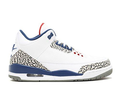 Nike Air Jordan 3 Retro Og Blanco - 13 D (m) Us