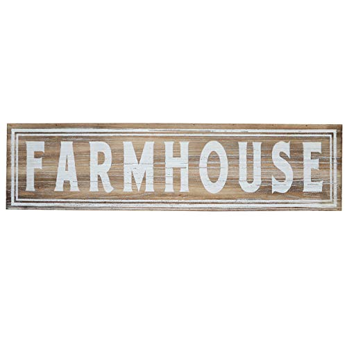Barnyard Designs Large Wooden Farmhouse Sign Rustic Vintage Primitive Country Wall Decor 30