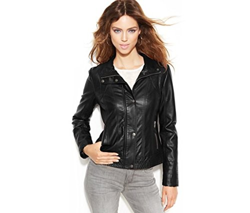 leatherjacket Womens Genuine Lambskin Motorcylce Leather Jacket