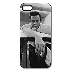 Johnny Cash Design Durable TPU Case Protective Skin For Iphone 5s iphone5-81611
