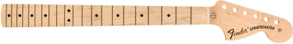 Fender Classic Series '70s Stratocaster 3-Bolt Mount U Neck - Maple Fingerboard