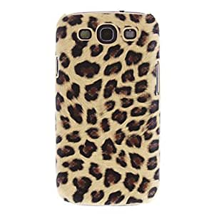 Leopard Rear Phone Case + 3 Pack Mirror Guards for Samsung Galaxy S3 i9300