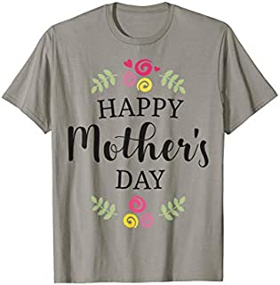 Birthday Gift Mother's Day, I Heart Mom For Mother's Day  Short and Long Sleeve Shirt/Hoodie
