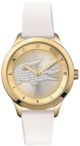 Lacoste mujer-reloj analógico de cuarzo silicona Victoria small 2000916: Lacoste: Amazon.es: Relojes