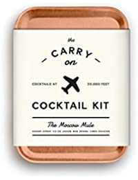 MAS-CARRYKIT-MM Carry on Cocktail Kit, Moscow Mule,...
