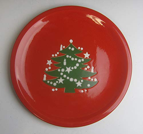 Waechtersbach China CHRISTMAS TREE Tree Coupe Smooth Dinner Plate(s) EXCELLENT