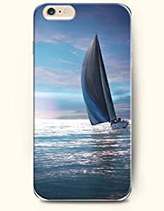 OOFIT iPhone 6 Plus Case 5.5 Inches with the Design of Sea and Beach
