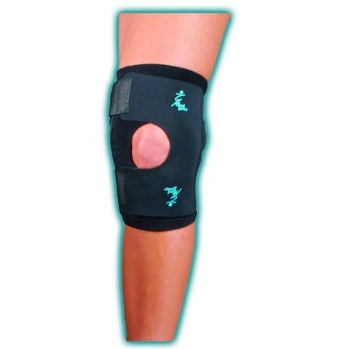 MedSpec Dynatrack Plus Patella Stabilizer with CoolFlex - Black - Small