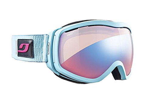 Julbo Elara J74734127 Women Zebra Light Sky Blue Frame Zebra Light Flash  Lens Sports Ski Googles aae37220aba3