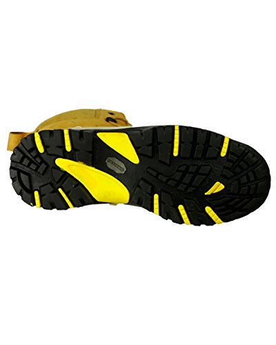 Amblers Safety - Calzado de protección de cuero para hombre Beige ocre Beige - ocre