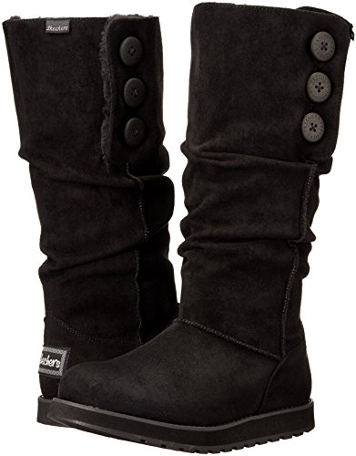 Winter Tall Women's Big Button Stivali Slouch Boot Keepsakes Donna Skechers nfFYqTwY
