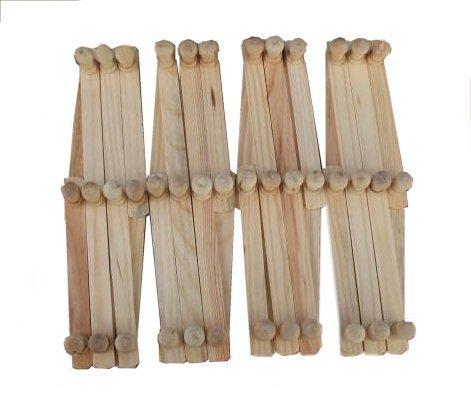 UPC 642782021783, 4 Expandable Wood Racks