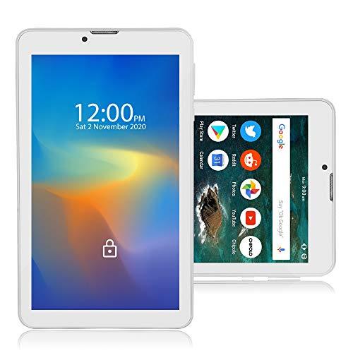 Indigi White 7.0-inch Phablet Tablet PC 4G LTE Smart Phone WiFi GSM Unlocked AT&T T-Mobile (White)