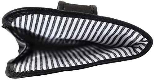 """Gusti Leder studio """"Kane"""" porta occhiali da vista da sole accessorio per occhiali elegante vintage unisex nero 2A114-33-2"""