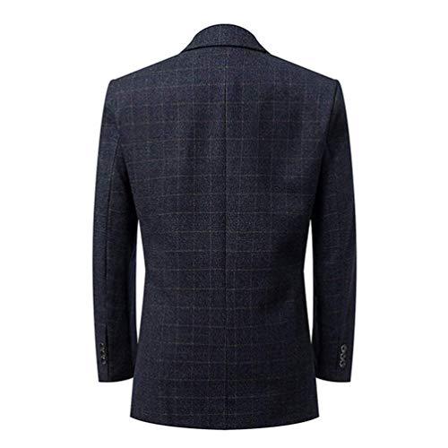 Los Boda Mode Formal Tweed Esmoquin De Abrigo Marca Nner Traje dWn7qOC
