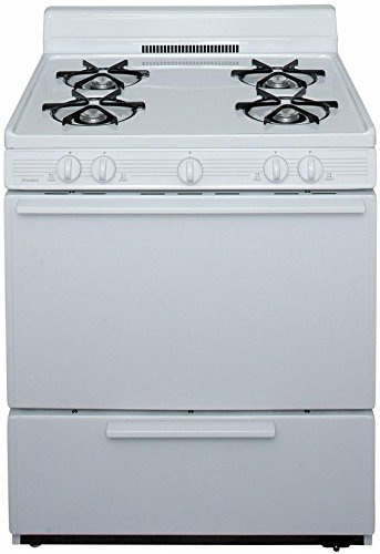 Premier BFK100OP 30' White Gas Open Burner Range