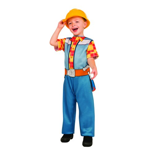 Rubie's Costume Bob the Builder Value Costume, (Builder Costume For Kids)