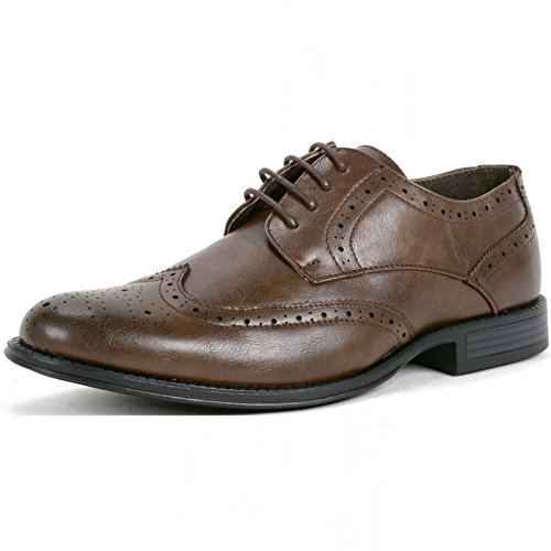 alpine-swiss-zurich-mens-dress-shoes-brogue-wing-tip-laceup-oxford-brown-10-m-us