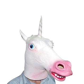 unicornio máscara para disfrazar