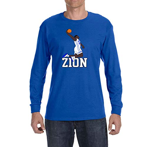 Tobin Clothing Blue Duke Zion Dunking Long Sleeve Shirt Youth Small