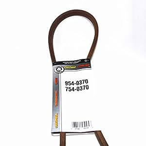 OEM 954–0370MTD cinturón compatible con MTD 754–0370