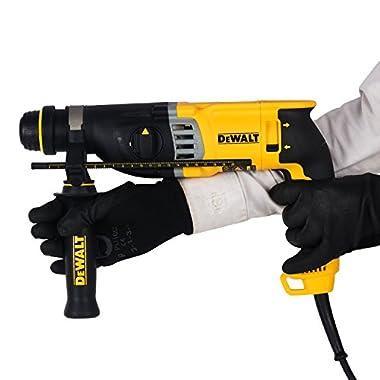 DEWALT D25143K 900Watt 28mm SDS-Plus 3 Mode 2Kg Combi Hammer - 3.0J Impact Energy 11