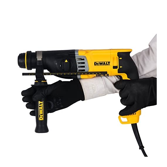 DEWALT D25143K 900Watt 28mm SDS-Plus 3 Mode 2Kg Combi Hammer - 3.0J Impact Energy 5