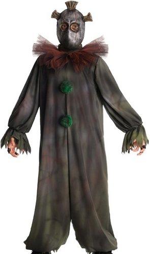 Horrorland Prankster Costume And Mask Costume -