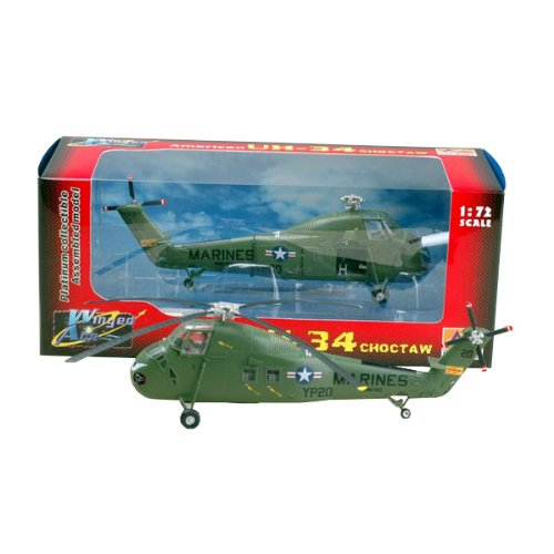 Easy Model American UH-34 Choctaw Helicopter Model Building Kit