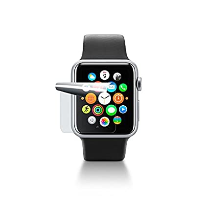 Cellular Line SPAW38 - Protector de pantalla (Watch, Reloj inteligente, Apple, Transparente