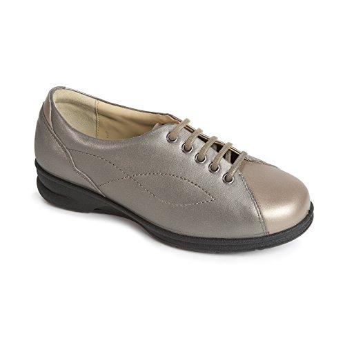 Padders - Zapatillas para mujer plateado Metallic/Combi Metallic/Combi