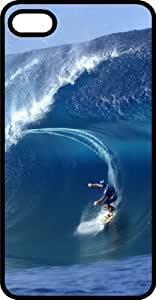Surf Is Up Killer Half Pipe Black Rubber Case for Apple iPhone 5 or iPhone 5s