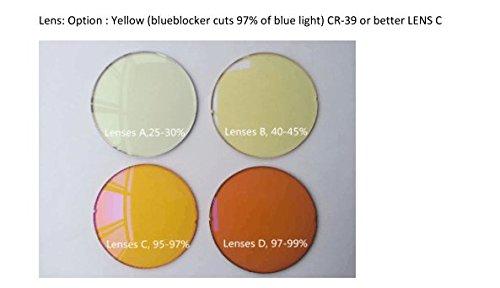 UV400 Cadre Blue pour SH077antiy Dark Leger C4 Lunettes Verrouillage Blublocker Lens Lunettes Light Protection TR90 Jaune Ordinateur avec SHINU Objectif Hommes Femmes Yellow PZdq7xP