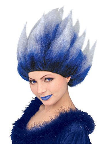 (Fire N Ice Cool Blue Ice Queen Wig (Unisex))
