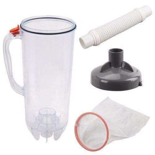 (Pool&Spa Repl Parts) Pool Cleaner Leaf Canister Trap w/Large Mesh Bag Hayward Baracuda Kreepy Krauly ()